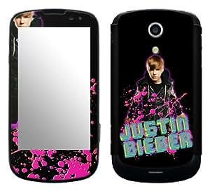 MusicSkins, MS-JB180215, Justin Bieber - Glitter, Samsung Epic 4G Galaxy S (SPH-D700), Skin