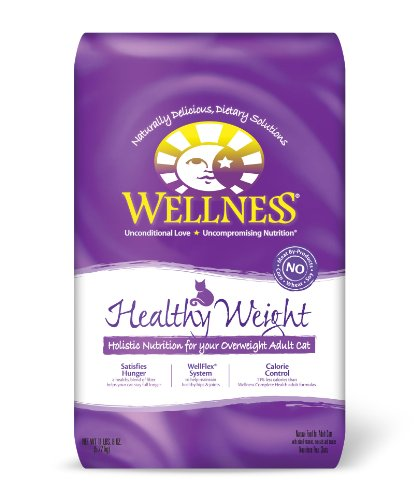Wellness Healthy Weight Adult Cat Food, 11-1/2-Pound Bag, My Pet Supplies