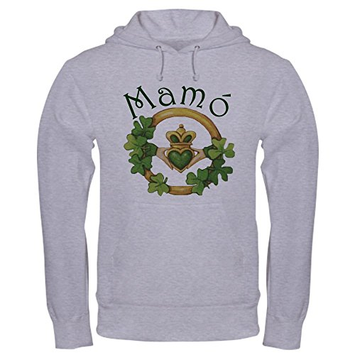 - CafePress Grandma's Claddagh Hooded Sweatshirt Pullover Hoodie, Classic & Comfortable Hooded Sweatshirt Heather Grey