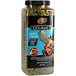 Zoo Med Gourmet Reptisticks For Aquatic Turtles, 8.5 oz