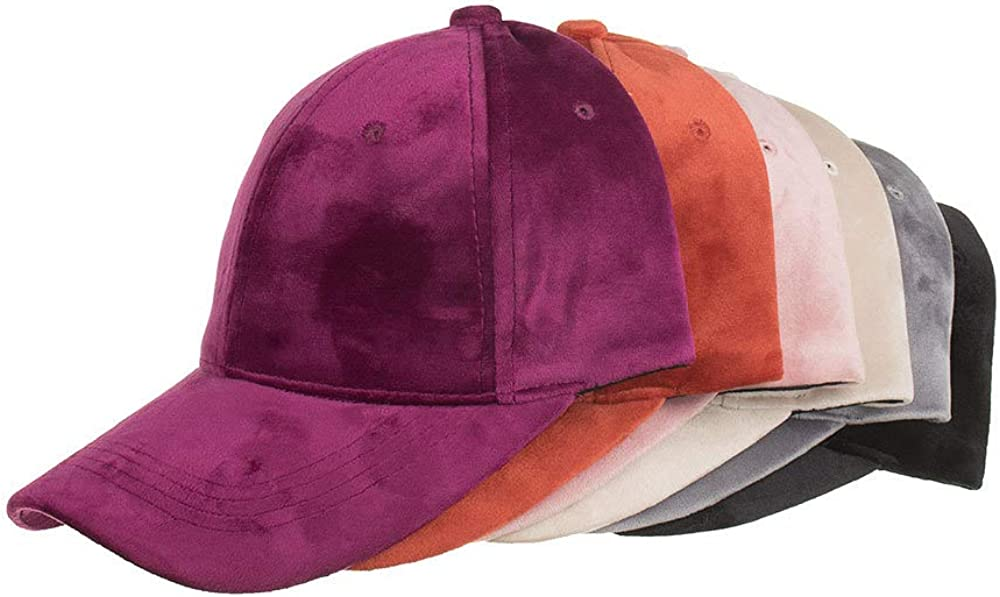 Bincout Meerore Velvet Fashion Baseball Cap Casual Hat