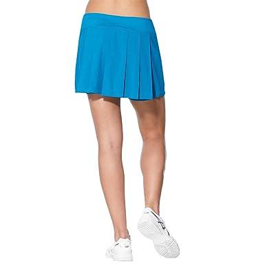 ASICS W Club Falda pantalón de Tenis, Mujer, Blanco (Real White ...