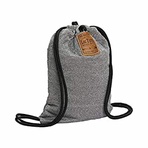 LocTote Flak Sack (21228 ) - Theft Resistant Drawstring Bag - The Perfect Theft Proof Travel Backpack