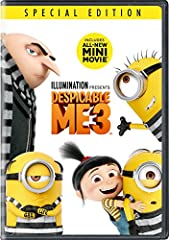 Illumination, who brought moviegoers Despicable Me, Despicable Me 2, and the biggest animated hit of 2015, Minions, continues the story of Gru, Lucy, their adorable daughters—Margo, Edith and Agnes—and the Minions in Despicable Me 3. After he...