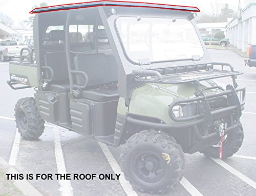2008 09 Polaris Ranger Crew 700 All Steel Roof Top Only