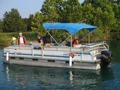 Long island drag racing amazon store pontoon boat rail for Fishing rod holders for pontoon boats