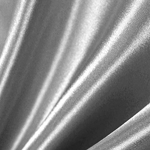 Silver Satin Fabric 60