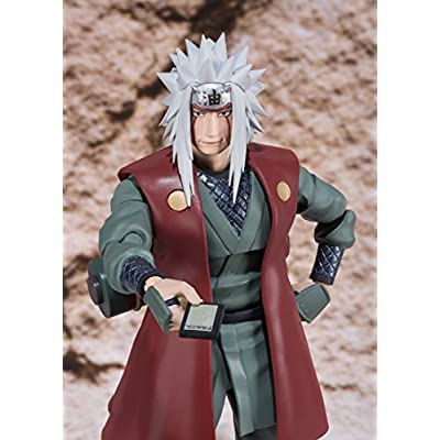 TAMASHII NATIONS Bandai S.H. Figuarts Jiraiya Action Figure: Toys & Games