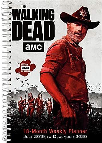 2020 Walking Dead Calendar The Walking Dead   Amc 2020 Planner: Sellers Publishing Inc