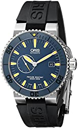 Oris Men's 64376547185RS Maldives Analog Display Swiss Automatic Black Watch