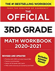 The Official 3rd Grade Math Workbook 2020-2021 | Practice with 1,000 curriculum-based Q&A