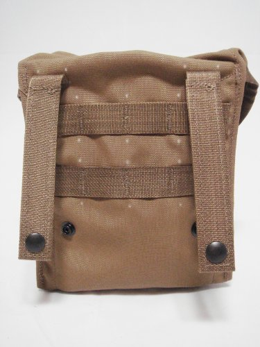 Official US Military MOLLE II 200 Round SAW Gunner Mag Utility Pouch Coyote