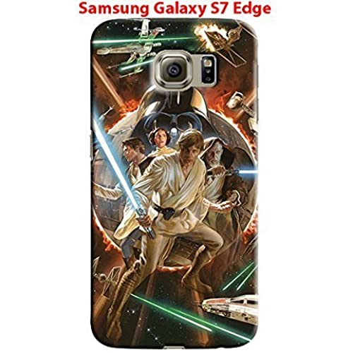 Star Wars Characters Samsung Galaxy S7 Edge Hard Case Cover (sw54) Sales
