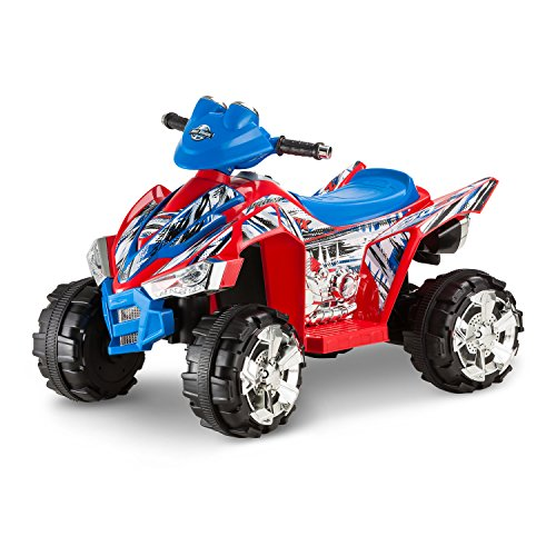 Kid-Trax-ATV-Quad-Powered-Car-Battery-Powered-Ride-on-Toys