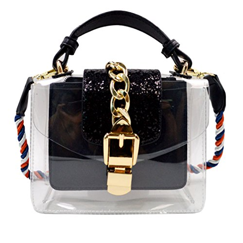 Braided Belt Messenger Bag - 7