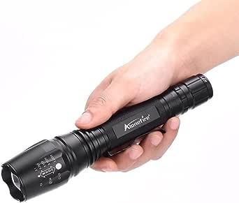 مصباح يدوي قابل للتكبير AloneFire H200 Cree XM-L T6 2000 Lumens
