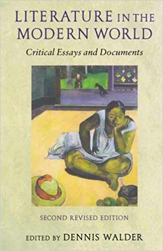 Book Literature In The Modern World: Critical Essays and Documents