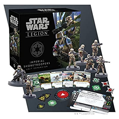 Star Wars Legion: Imperial Shoretroopers: Toys & Games