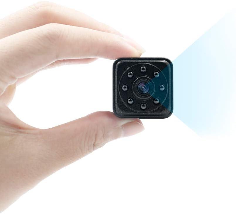 Mini Kamera 1080p Hd Tragbare Kleine Überwachungskamera Magnet Videokamera Tangmi Mikro Nanny Cam Mit Bewegungserkennung Und Infrarot Nachtsicht Unterstützt 128g Sd Karten Baumarkt