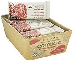 GOMACRO BAR APPLE & WALNUTS, 2.1 OZ