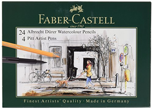 Albrecht Durer 24/Tin And 4 Ct Pitt Gift Set by Faber-Castell