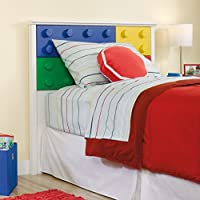 Sauder 418388 Twin Headboard, Soft White Finish