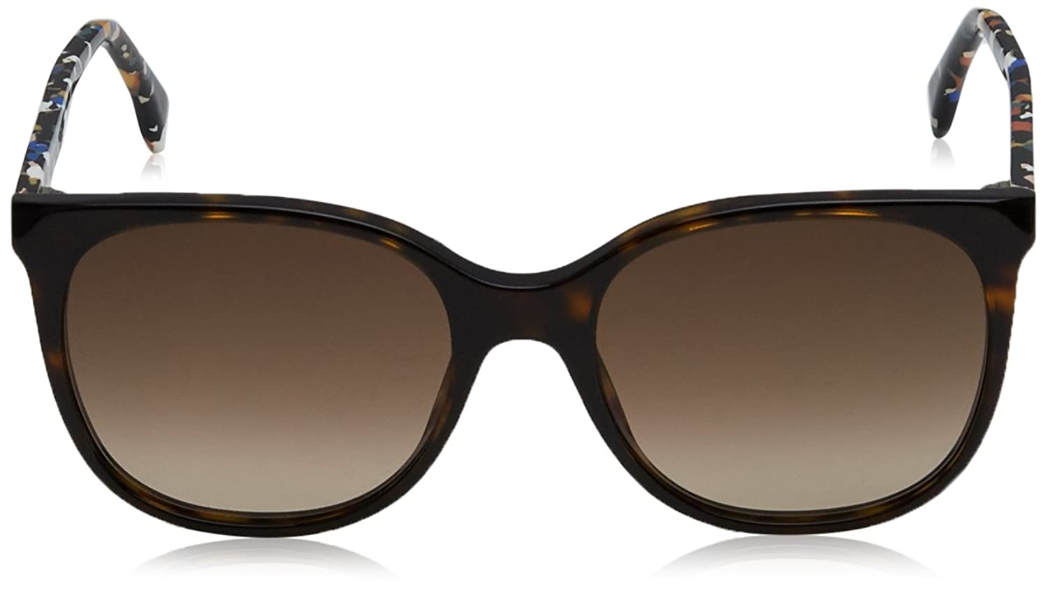 Fendi Damen Sonnenbrille FF 0172/S CC Tto, Braun (Dkhvn Multic/Brown Sf), 53