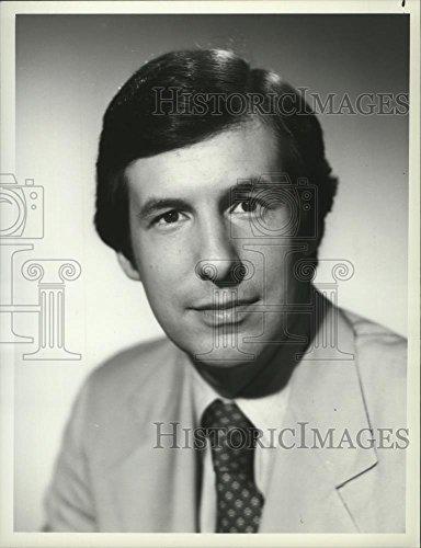 1982 Press Photo NBC Correspondent Chris Wallace in