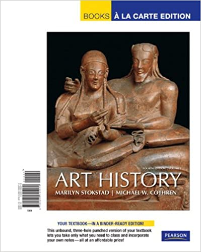 Art History Volume 1 Marilyn Stokstad 4th Edition Pdf