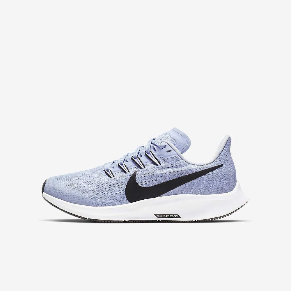 MultiCouleure (Aluminum noir Half bleu blanc 441) 33 EU Nike Air Zoom Pegasus 36 (GS), Chaussures d'Athlétisme Mixte Enfant