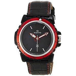 Maxima Hybrid Analog Black Dial Men's Watch – 29722LPGW
