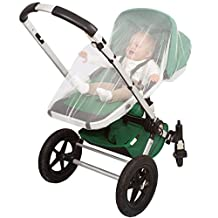 Mosquito Netting Baby by #1 EVEN Naturals® | Mosquito Net for Crib, Stroller, Carrier, Car Seat, Cradle Screen Net | Free Carry Bag & eBook | Avoids Insect Malaria Repellent | Money-back Guarantee