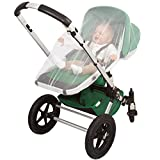 Luxury Baby Mosquito NET for Stroller, Infant Carrier, Car Seat, Unique Simple Setup System, Extra Fine Holes, Soft Insect Netting, Storage Bag, No Chemicals