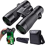 12×42 Binoculars High Powered HD Professional Binoculars with Superior BAK4 FMC Prism .Perfect for Bird Watching,Hunting,Travel,Hiking.Waterproof. Fog Proof For Sale