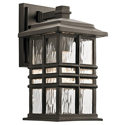 Square One Light Wall - Kichler 49829OZ One Light Outdoor Wall Mount