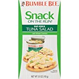Bumble Bee Snack On The Run Fat-Free Tuna Salad Kit, 3.5 Ounce Boxes (Pack of 12)