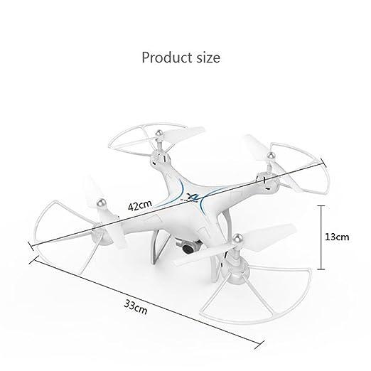 x10 2.4 GHz Quadcopter cámara WiFi FPV sin cabeza modo altitud ...