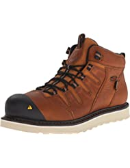 1013259 KEEN Mens Glendale WP Safety Boots - Peanut - 9.0\D