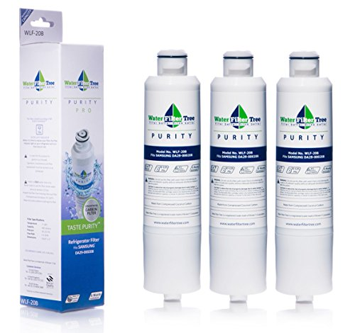 3 X WLF-20B Samsung Refrigerator Replacement Water Filter for DA29-00020B - Triple pack