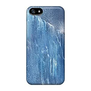 Tpu Case Cover For Iphone 5/5s Strong Protect Case - Ice Age Design