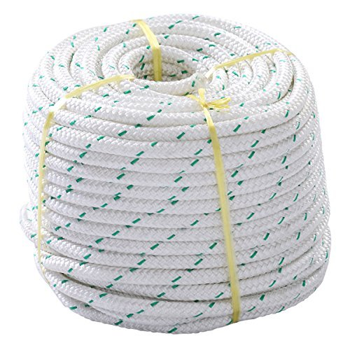 NEW 3/7'' x 150' Double Braid Polyester Rope Sling 5900Lbs BREAKING STRENGTH by Lotus Analin