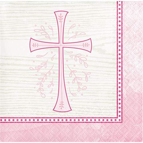 Communion Confirmation Baptism 16 Ct Paper Beverage Napkins ()