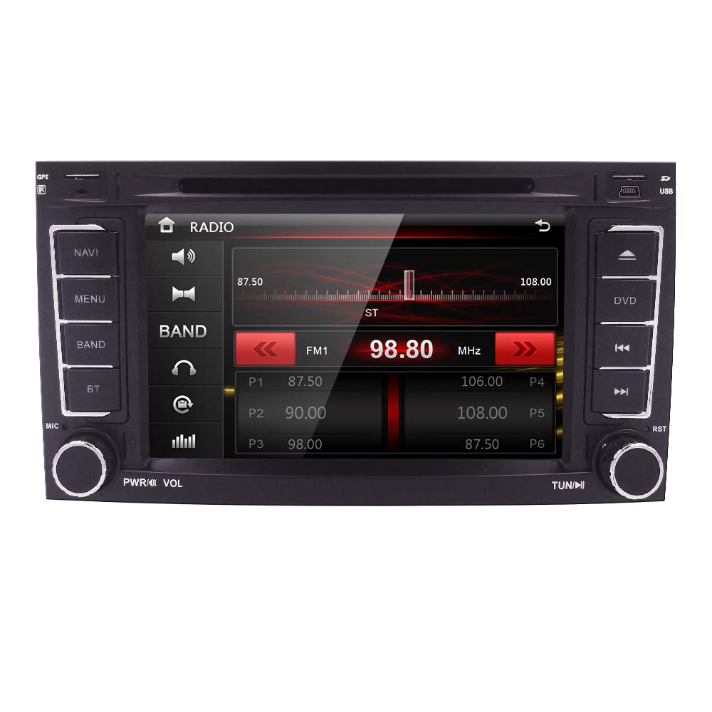 Amazon.com  DVD CD Player Car GPS Stereo for VW Touareg Transporter T5  Multivan Bluetooth Capacitive Touch Screen+ 3G + 8GB North America map  Card  GPS   ... 3d49fdd53ab5d