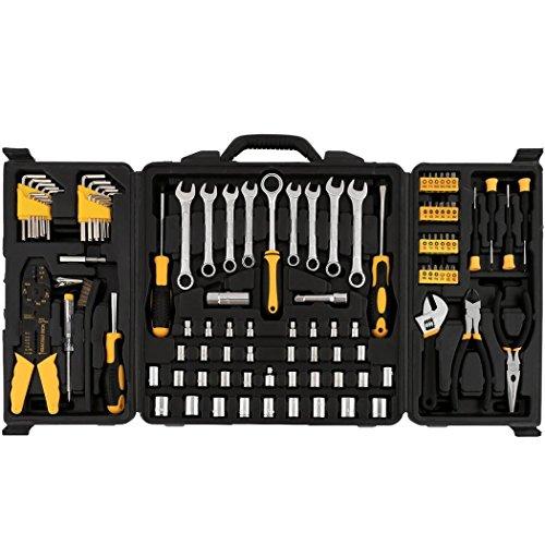 neudas 108 Piece Tool Kit Household Tool Set for House Everyday Basic Minor Repairs