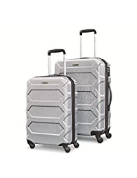 Samsonite Magnitude Lx 2 Piece Nested Hardside Set (spinner 20/spinner 24) Luggage Set, Silver