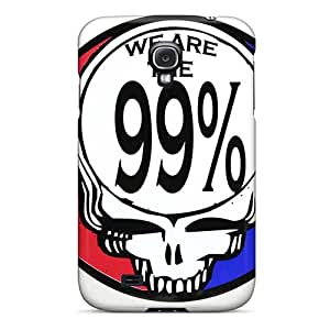Perfect Hard Cell-phone Cases For Samsung Galaxy S4 With Provide Private Custom High-definition Grateful Dead Pattern LauraAdamicska