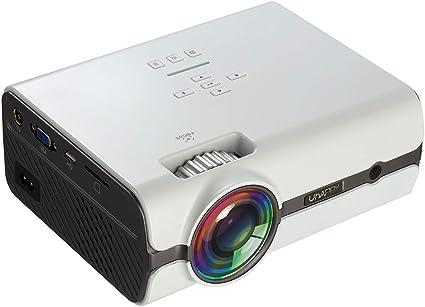 Proyector pequeño Película Proyector HD Android 6.0 Cine en casa ...