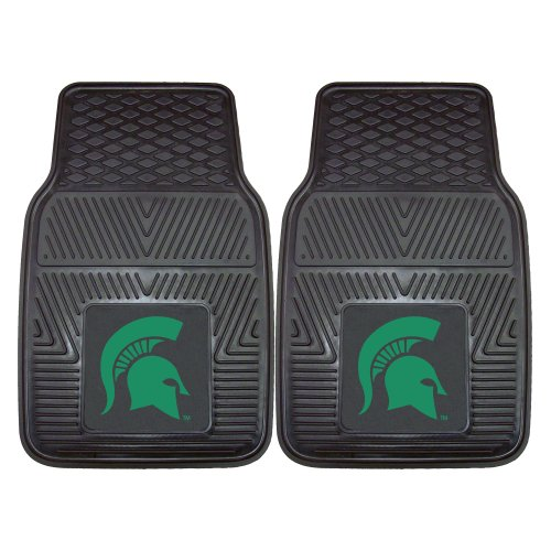 FANMATS NCAA Michigan State University Spartans Vinyl Heavy Duty Car (Michigan Floor)