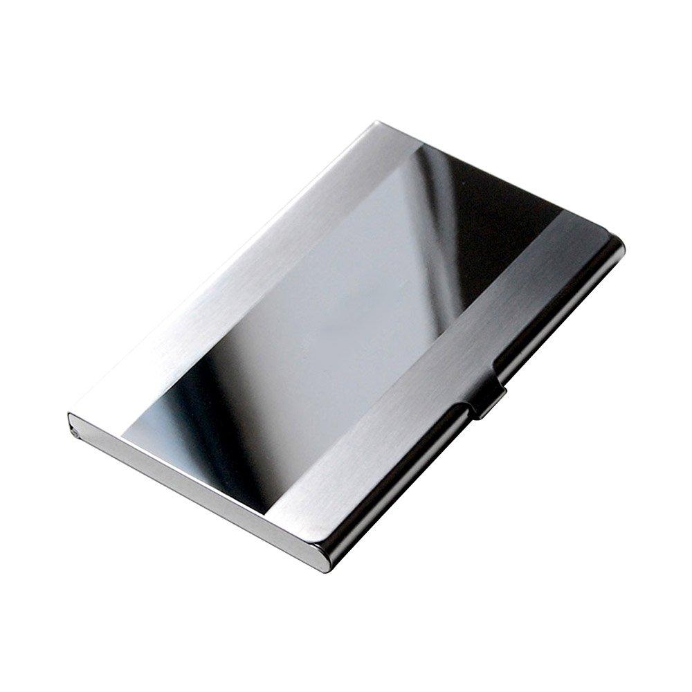 スーパービジネス名カードケースホルダー 3.66 x 2.28 0.26 inch  Stainless Steel B015OBQ1E8
