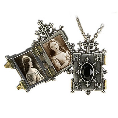 Orthodox Icon of Church Locket Gothic Necklace by Dear Deceased (Image #1)